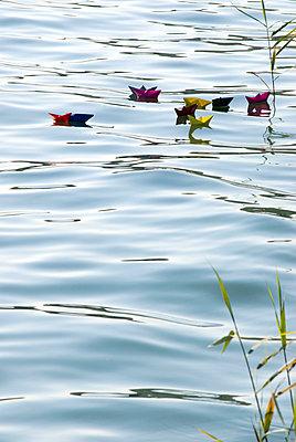 Paper boat - p4510030 by Anja Weber-Decker