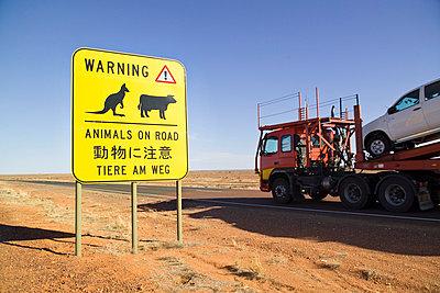 Australischer Highway - p6280274 von Franco Cozzo