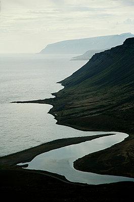 Westfjords, Iceland - p1028m2043543 von Jean Marmeisse