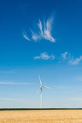 Windkraft, Bois Ballay - p1079m1074170 von Ulrich Mertens