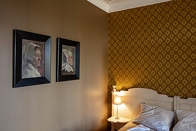 Paintings in a hotel room - p695m2260632 by Rui Camilo