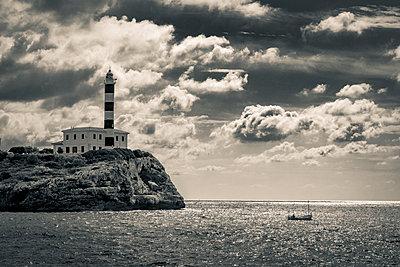 Leuchtturm von Portocolom - p1696m2294326 von Alexander Schönberg