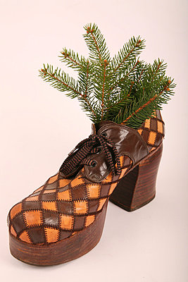 Christmas shoe - p165m855654 by Andrea Schoenrock