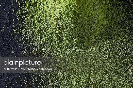 Matcha green tea - p307m2296707 by Naho Yoshizawa