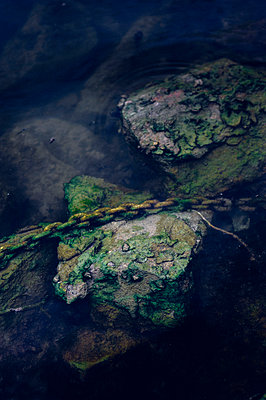 Chain in water - p1088m907768 by Martin Benner