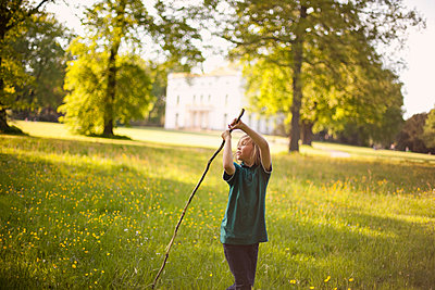 Sommer im Park - p1195m1138159 von Kathrin Brunnhofer