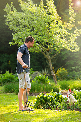 Gardening - p6692532 by Jutta Klee photography