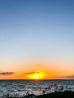 Sunset on Fyn - p382m2283990 by Anna Matzen