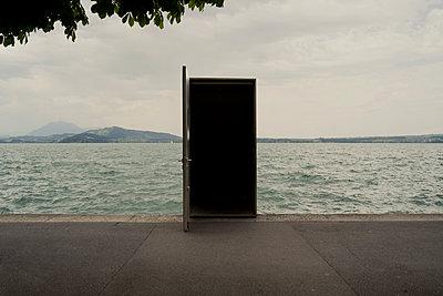 """Art sculpture """"Seesicht"""" in Zug - p470m2244369 by Ingrid Michel"""