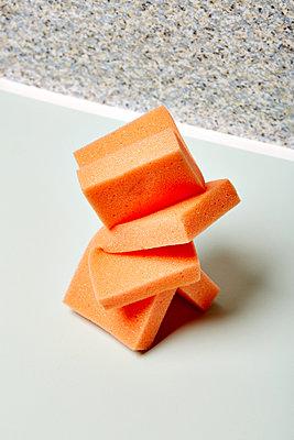 Orange coloured solid foam - p1673m2260781 by Jesse Untracht-Oakner