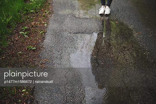 Pfütze - p1477m1586672 von rainandsalt