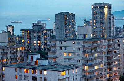 Stadtansicht Vancouver - p1250m1050313 von werner bartsch