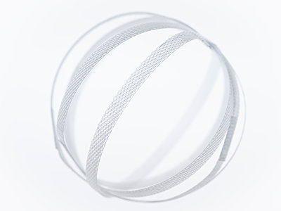Plastic ribbon ball - p401m2264012 by Frank Baquet