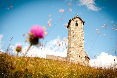 Bergkapelle in Südtirol, Vigiljoch - p1273m1094288 von melanka