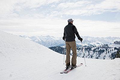 Skifahren - p4350127 von Stefanie Grewel
