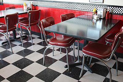 American diner - p5780040 by Genie C Balantac