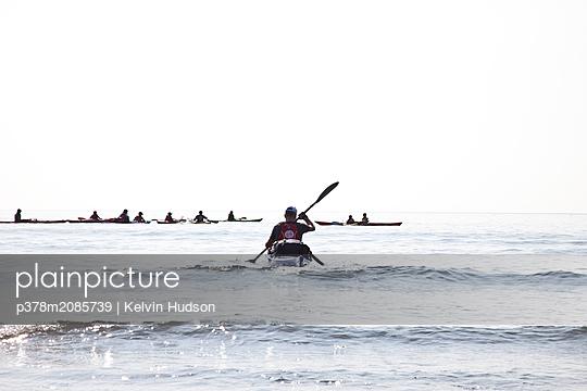 Canoeist - p378m2085739 by Kelvin Hudson
