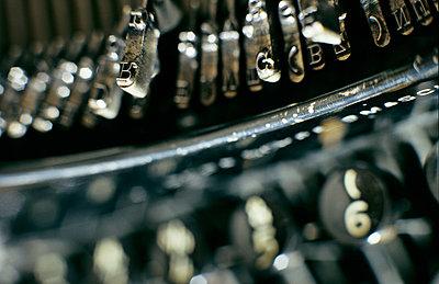 Alte Schreibmaschine  - p1092m880478 von Rolf Driesen
