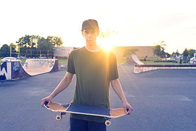 Skateboarding - p1362m1227743 by Charles Knox