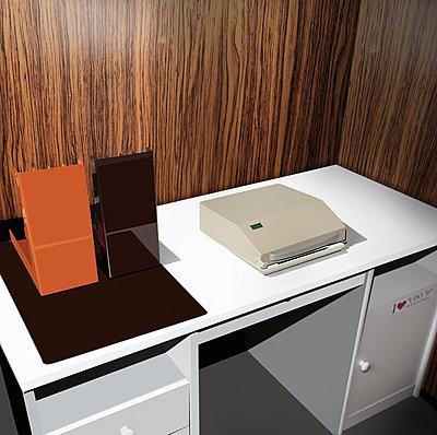 Arbeitsplatz - p230m2152644 von Peter Franck