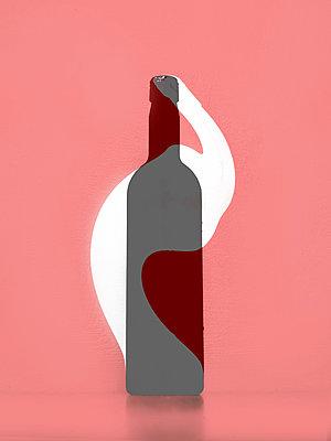 Bottle - p1413m2065236 by Pupa Neumann