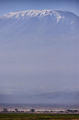 View of Mount Kilimanjaro - p706m2158438 by Markus Tollhopf
