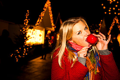 Weihnachstmarkt - p904m749012 von Stefanie Päffgen
