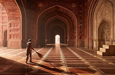 Innenarchitektur Taj Mahal - p961m1591190 von Mario Monaco