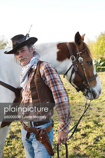 American cowboy - p9200036 von Jude Mooney