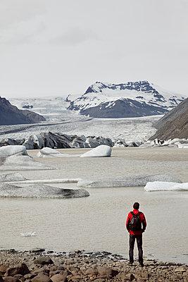 Gletscher Hoffellsjoekull - p1294m1201571 von Sabine Bungert