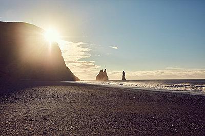 Schwarzer Strand von Reynisfjara - p1305m1190716 von Hammerbacher