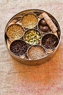 Ingredients for garam masala - p62322211f by Isabelle Rozenbaum