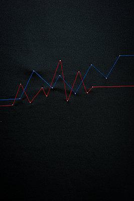 Diagramm - p954m1185257 von Heidi Mayer