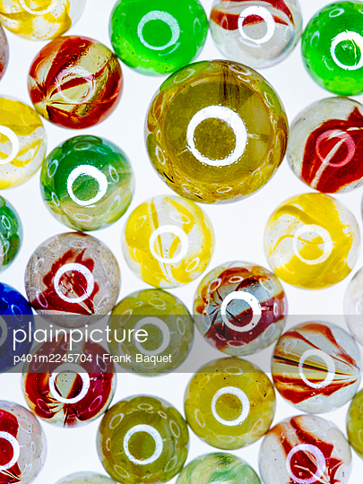 Glass marbles - p401m2245704 by Frank Baquet
