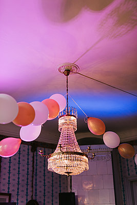 Party Balloons  - p1507m2126292 by Emma Grann