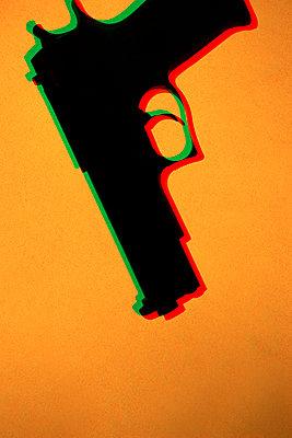 Hand gun, CGI - p975m2286091 by Hayden Verry