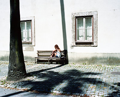 Alone - p1083m990030 by Alain Greloud