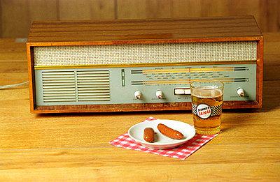 Altes Radio - p1650001 von Andrea Schoenrock