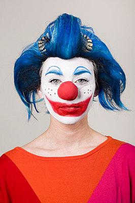 Clownin - p3580461 von Frank Muckenheim