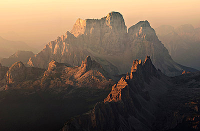 Pelmo, Croda da Lago, Dolomites, Veneto, Italy. Pelmo and Croda da Lago - p651m2006598 by ClickAlps