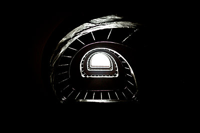 stair well - p445m1153181 by Marie Docher
