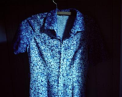 Blue coloured dress - p945m1502145 by aurelia frey