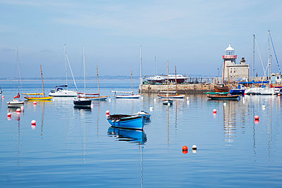 Howth harbour; Howth county dublin ireland - p442m824635 by Peter Zoeller