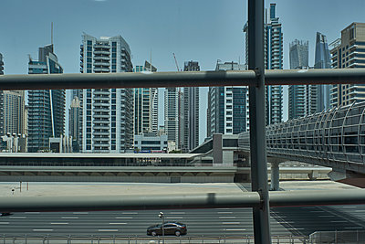 Skyline of Dubai - p851m2077302 by Lohfink