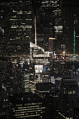 Double Exposure of Midtown Manhattan, New York, USA - p301m960801f by Michael Mann