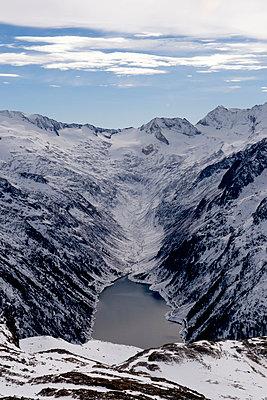 Mountain lake - p451m949637 by Anja Weber-Decker