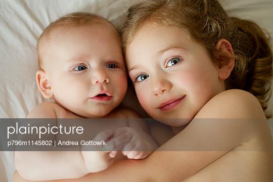 Geschwister - p796m1145802 von Andrea Gottowik