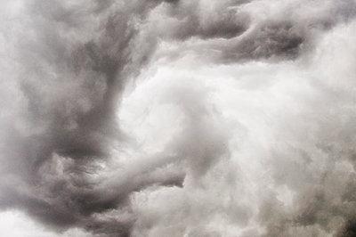 Gewitterwolken, Berg, Oberbayern, Deutschland - p1316m1160454 von Peter von Felbert