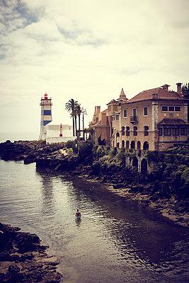 Farol de Guia, lighthouse - p851m2110840 by Lohfink