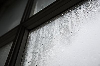 Beschlagenes Fenster - p1057m931376 von Stephen Shepherd